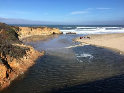 Mouth of the Pescadero River