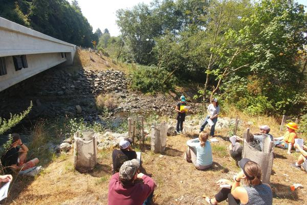 Field Tour - CalTrans Stream Crossing Project (Photo credit Alyssa Persau)
