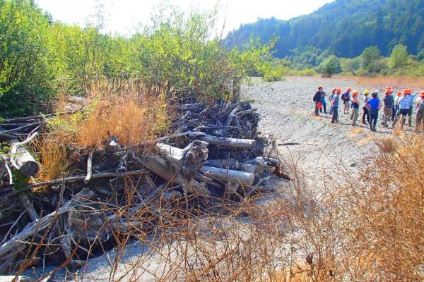 Field Tour - Stream Restoration in Lower Klamath Tributaries (Photo credit Cara Allen)
