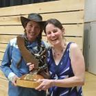 Restorationist of the Year Award winners Mary Ann King and Anna Halligan of Trout Unlimited